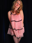 Retro Pink Babydoll Nighty